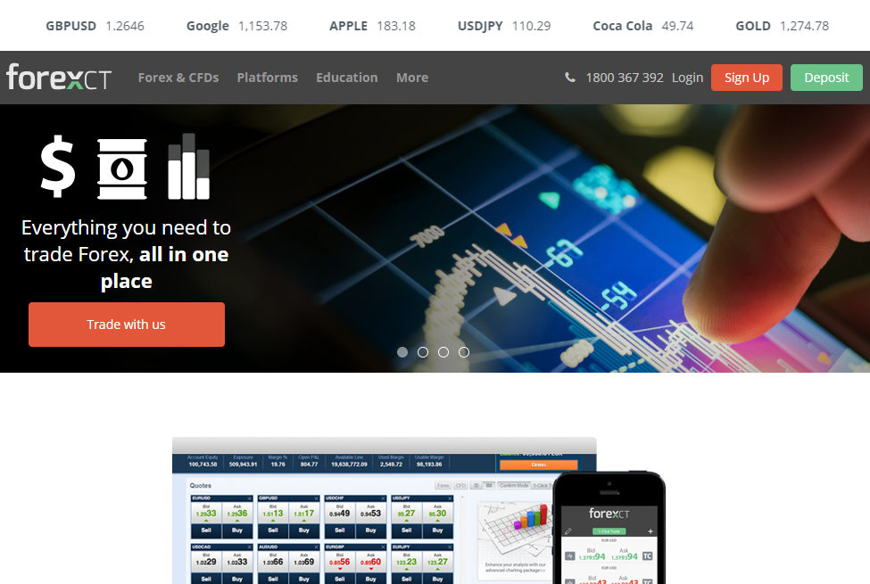 ForexCT Broker Review: Giving New Traders a Special Treatment