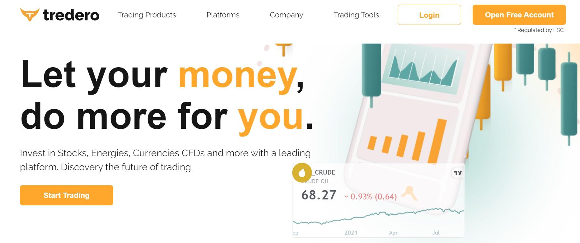 Tredero website